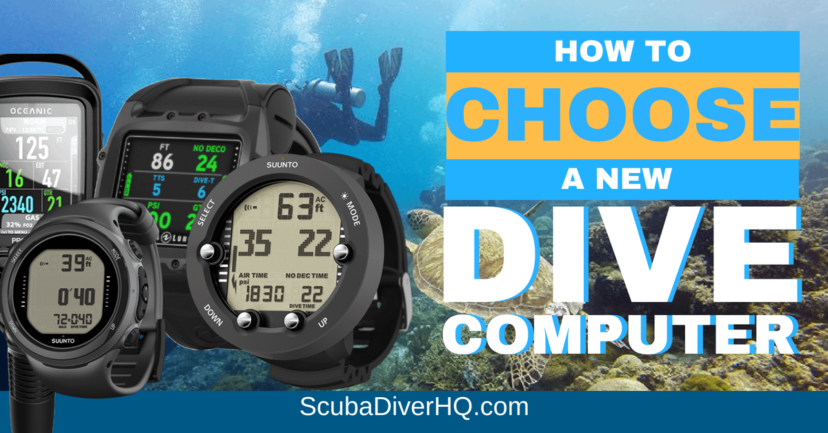 How To Choose A New Dive Computer?
