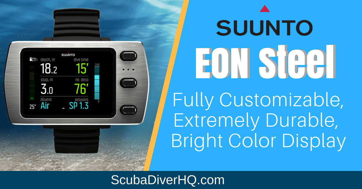 Suunto EON Steel Review: Fully Customizable, Extremely Durable, Color Display