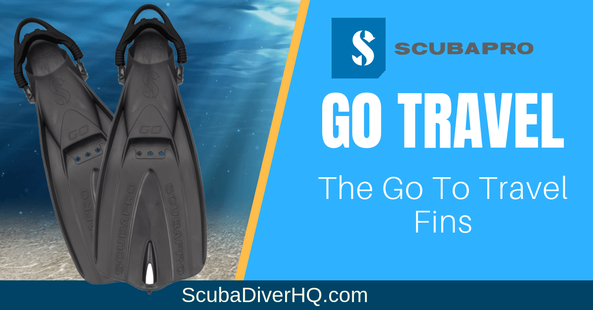 Scubapro Go Travel Fins Review: The Go-To Travel Fins