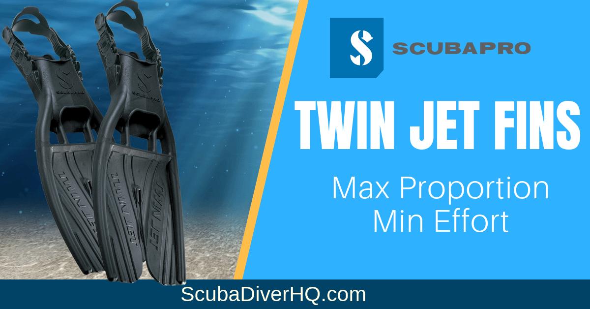 Scubapro Twin Jet Review: Max Proportion, Min Effort