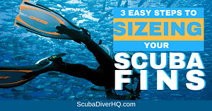 Scuba Fins Sizing And Size Chart 2