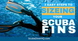 Scuba Fins Sizing And Size Chart 4