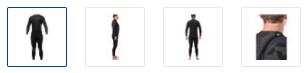 Bare Revel wetsuit Options