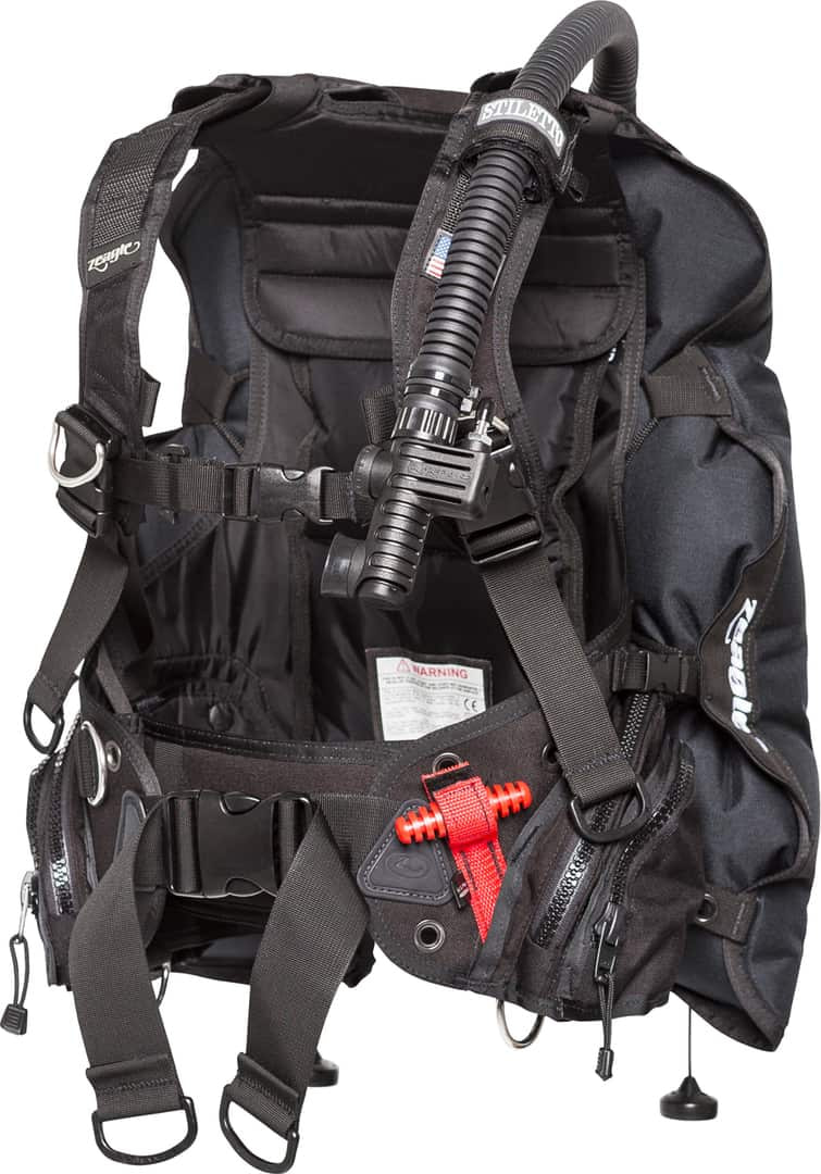 Zeagle Stiletto BCD inflated