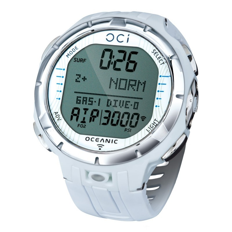 Oceanic Oci Dive Computer Watch White