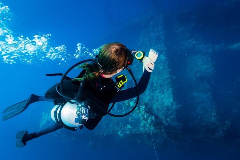 Scuba Diving with Zopp Novo Dive Computer